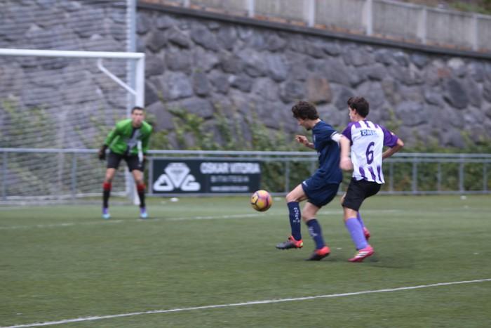 Mondraren eta Bergararen arteko futbol derbia - 16