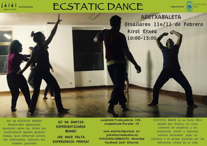 Ecstatic Dance saio berri bat otsailean