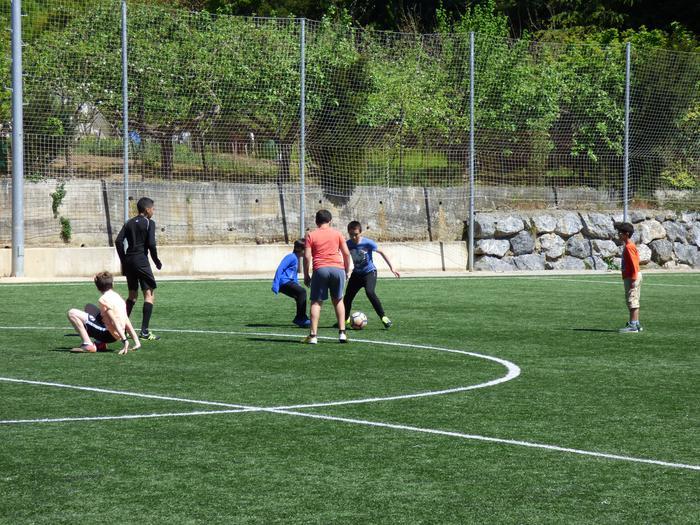 Oñatiko, Bergarako eta Arrasateko gazteak elkarrekin futbolean - 12