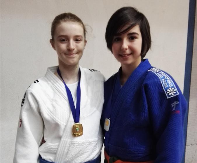 Kattalin Linazisoro bigarrena eskolarteko Gipuzkoako judo txapelketan