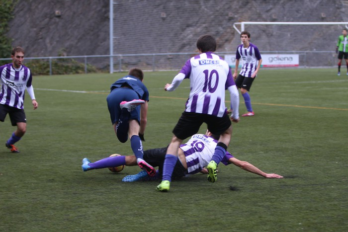 Mondraren eta Bergararen arteko futbol derbia - 8