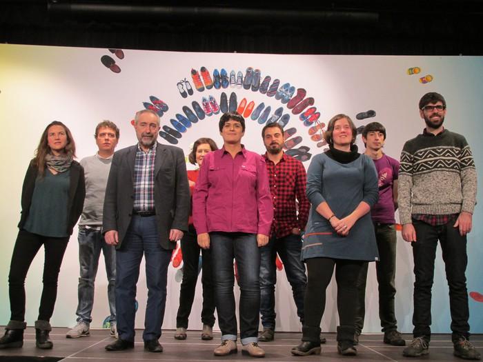 Hainbat debagoiendar EH Bilduren Espainiako Gorteetarako zerrendetan