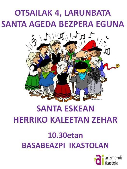 Santa Ageda bezpera