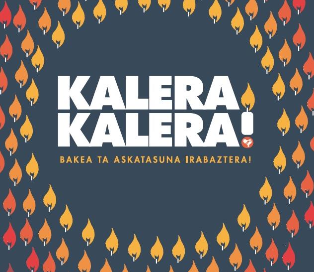 'Kalera, kalera' dinamikak presoak kaleratzearen aldeko ekimena iragarri dute Elgetan Urtezahar egunerako