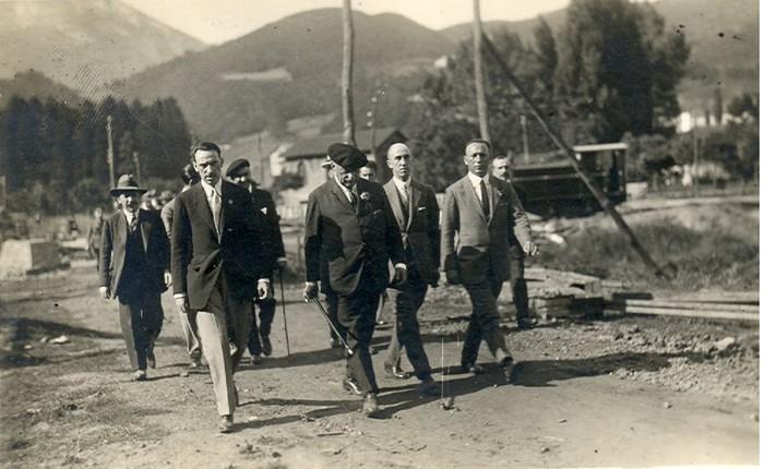 Primo de Rivera Arrasaten, 1925. urtean.
