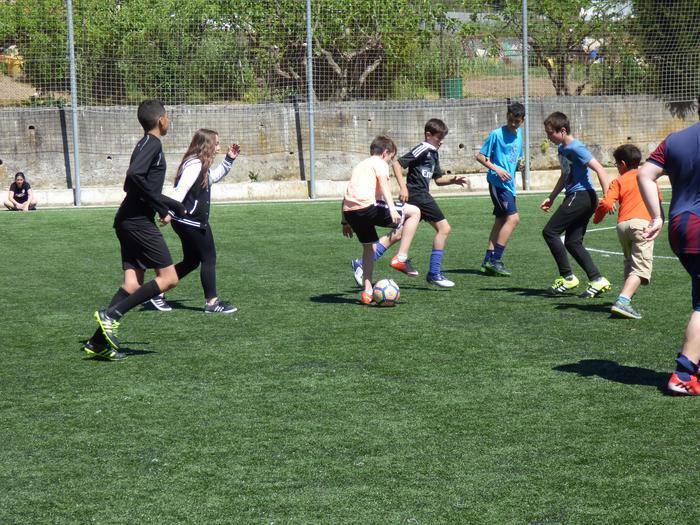 Oñatiko, Bergarako eta Arrasateko gazteak elkarrekin futbolean - 21
