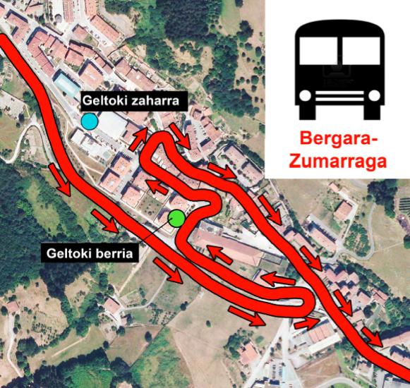 Autobusa Bergaratik Zumarragara