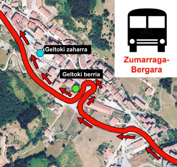 Autobusa Zumarragatik Bergarara