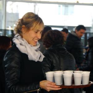 Torradak eta txokolatea Antzuolako umeen mozorro-festa borobiltzeko