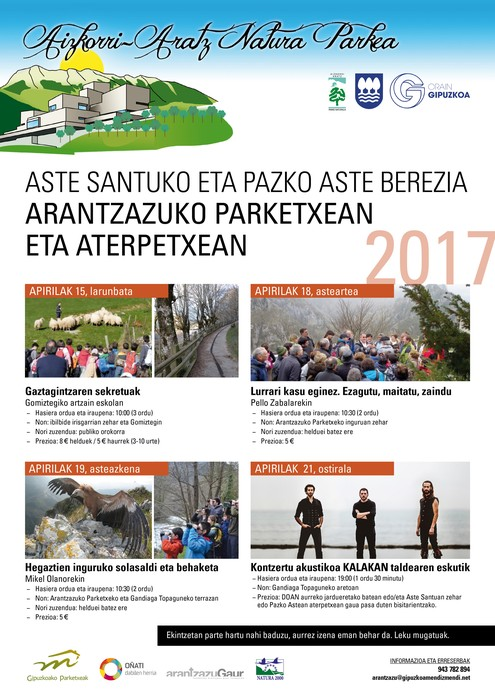 Arantzazu Parketxea 2017 Aste Santua