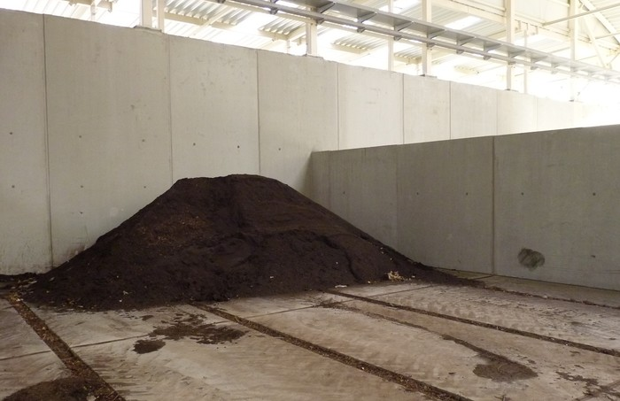 Baratze Parkea Sarean erabiliko dute Gipuzkoan ekoiztutako konposta