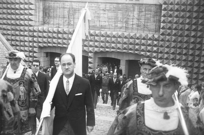 Gipuzkoako bandera eramaten, 1967an