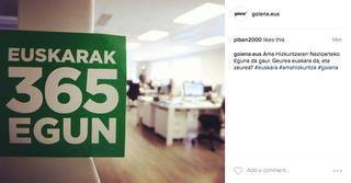 Instagram euskaldunagoa guztion artean