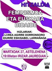 Feminismoa eta euskara bidaide