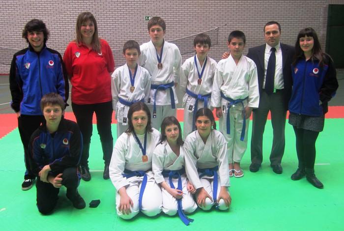 Gipuzkoako Kirol Eskolako 2014ko Karate Txapelketa