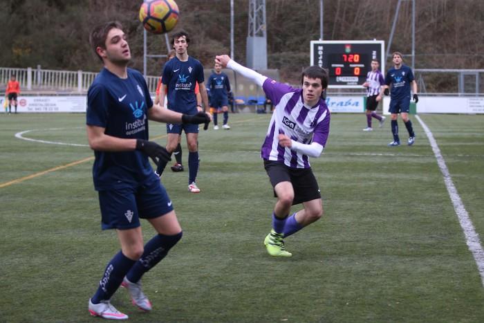 Mondraren eta Bergararen arteko futbol derbia - 7