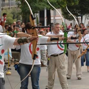 San Juanak 2007: arku tiroketa