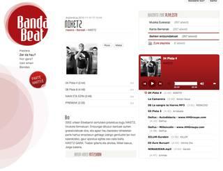 Euskal talde amateurrak sustatuko dituzte BandaBeat.com gunean
