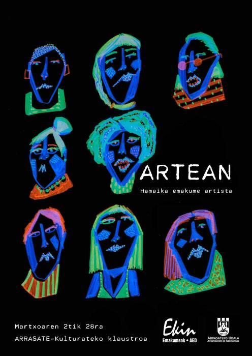 ARTEAN. Hamaika emakume artista