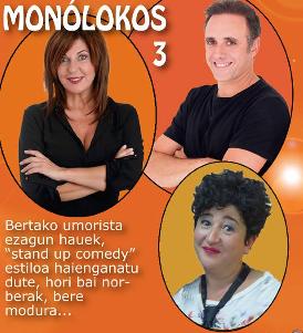 Monologo Mostra: Asier Hormaza, Maribel Salas, Gemma Martinez