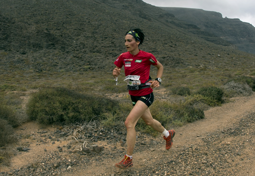 Oihana Kortazar garaile, domekan, Arnedo Trail mendi lasterketan