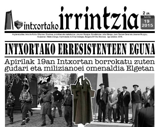 Bizi diren 21 miliziano eta gudari lokalizatu dituzte, oraingoz, apirilaren 19ko Erresistenteen eguneko omenaldirako