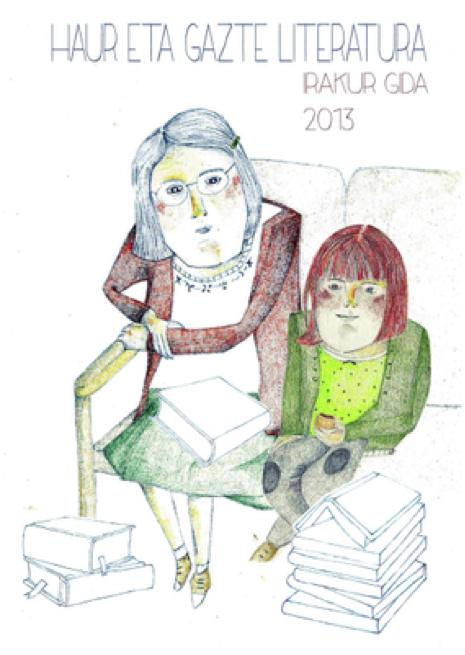 Eskuragarri dago sarean 2013ko 'Haur eta gazte literatura irakur gida'