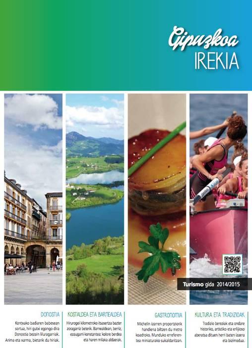 Gipuzkoako turismo gida berria argitaratu du Aldundiak