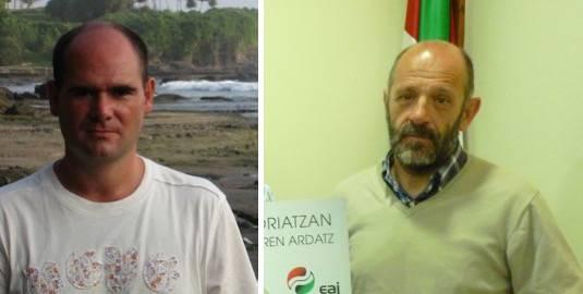 Unai Elkoro eta Joxe Ramon Zubizarreta dira Aretxabaletako eta Eskoriatzako EAJko alkategaiak