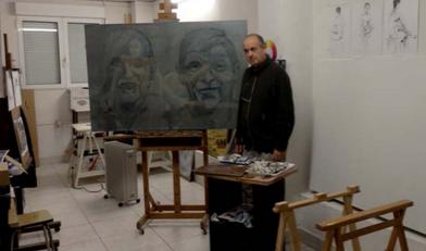 Antonio Arrillaranen figurazio eta abstrakzioa Aroztegi aretoan