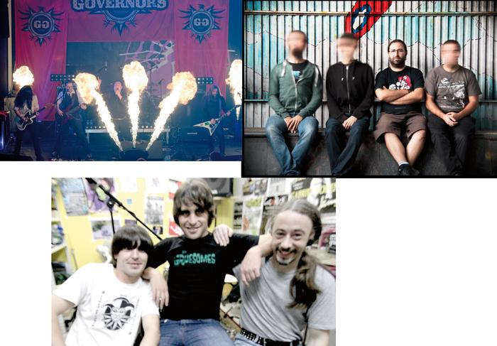 Arrasateko punk-rocka taulara