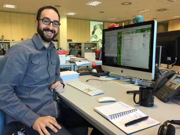 Roberto Uribeetxeberria da MGEPeko I+Gen koordinatzaile berria
