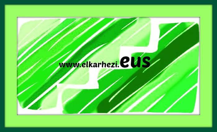 Gaurtik aurrera gure web-a www.elkarhezi.eus izang