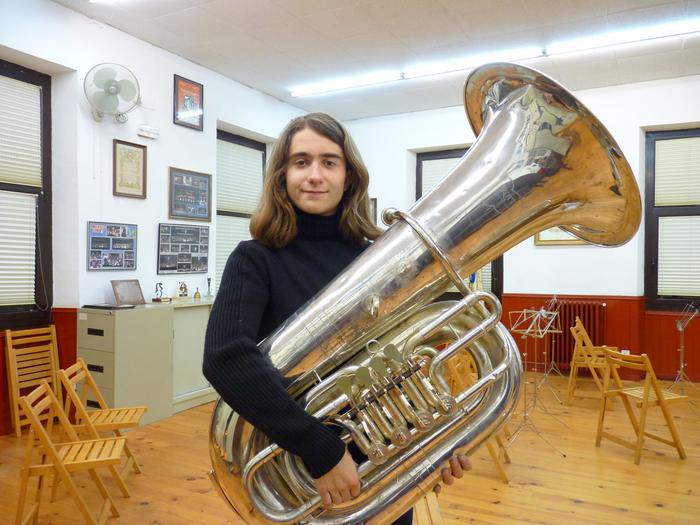 Andoni Moñuxek bi sari irabazi ditu Euskadiko Musikari Gazteen Lehiaketan