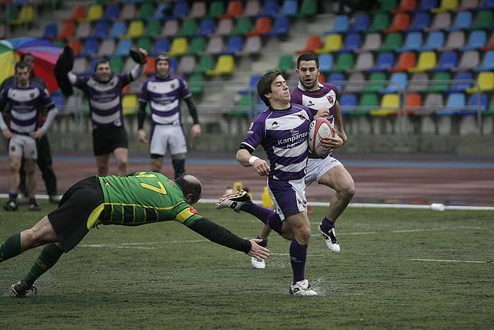 Arasate Rugbyk klasifikazio taulako azken taldea hartuko du domekan Mojategin