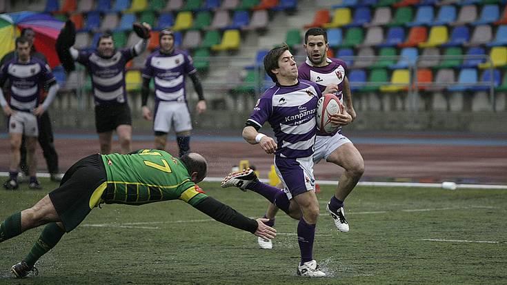 Arrasate Rugby Taldeak bigarrenaren aurrean sendotu du lidergoa, ligako onenak direla erakutsiz
