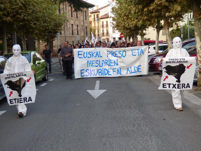 Euskal Presoei babesa, hileko azken egubakoitzean