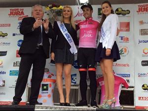 Mikel Aristi bigarren geratu da Tour du Juran