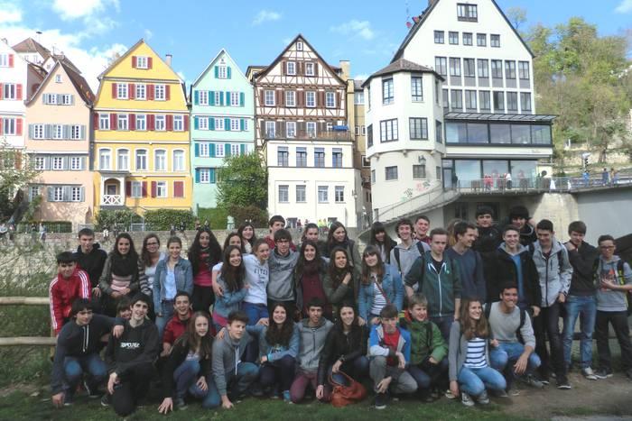 'Elkartruke' proiektuko ikasleak Alemaniara joan dira