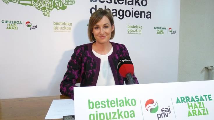 """Maria Ubarretxena (EAJ): """"Arrasate pasealekuaren itxierari irtenbide bat eman behar zaio lehenbailehen"""""""