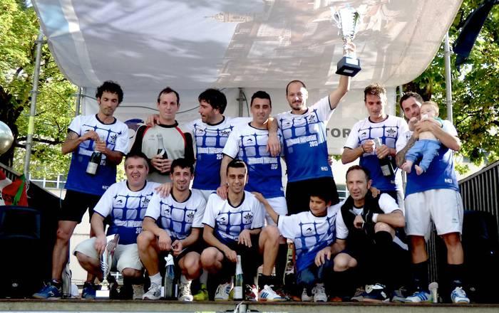 Bigarrengoz jarraian, Dribling taldea izan da Zaldibarko txapelduna (5-2)