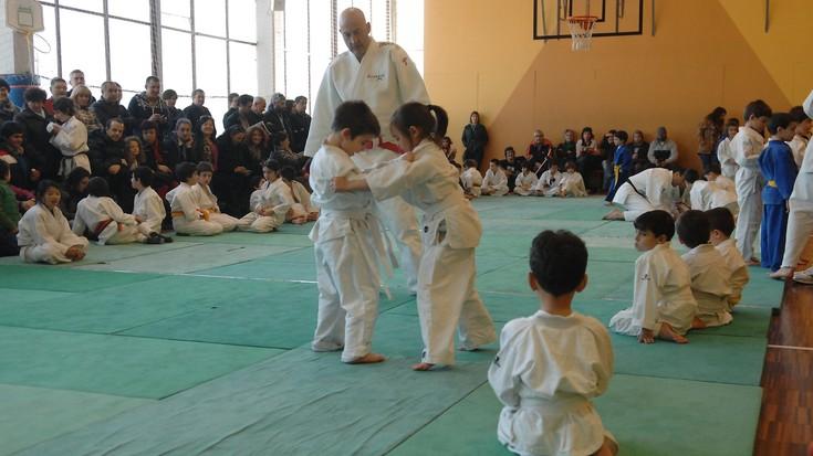 Musakolako kantxa judokez beteta