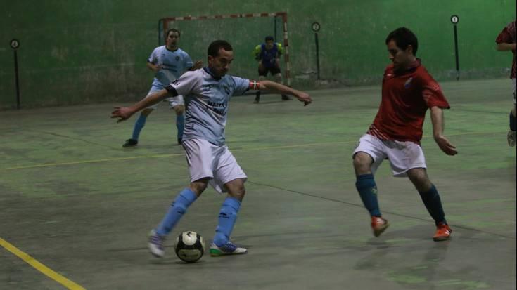 Azken minutuan galdu zuen Aretxabaletako areto futbol taldeak