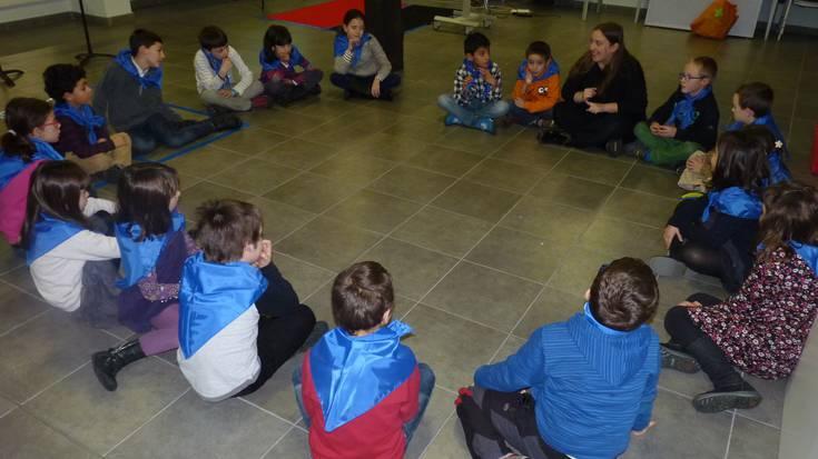 Euskadi Brass proiektuarekin lanean Arrasaten