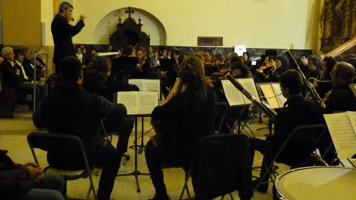 Udaberri Musikaldian Goikobalu eta Arrasate Musikaleko Orkestra