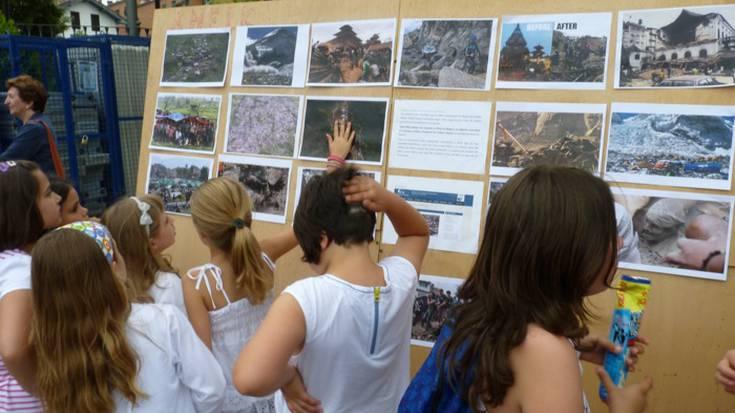 Danbor hotsak eta Nepalen aldeko pintxoak, Kalebarrengo jaiei hasiera emateko