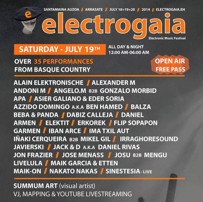 ELEKTROGAIA(Elektronik music festival)