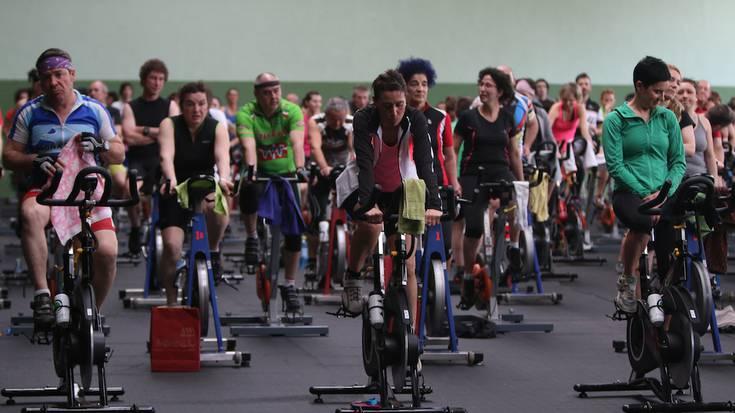 Hiru orduko spinning maratoian 120 lagunek hartu dute parte