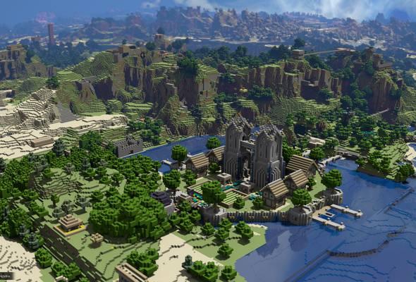 Minecraft zerbitzaria abiatu gura dute, euskaraz