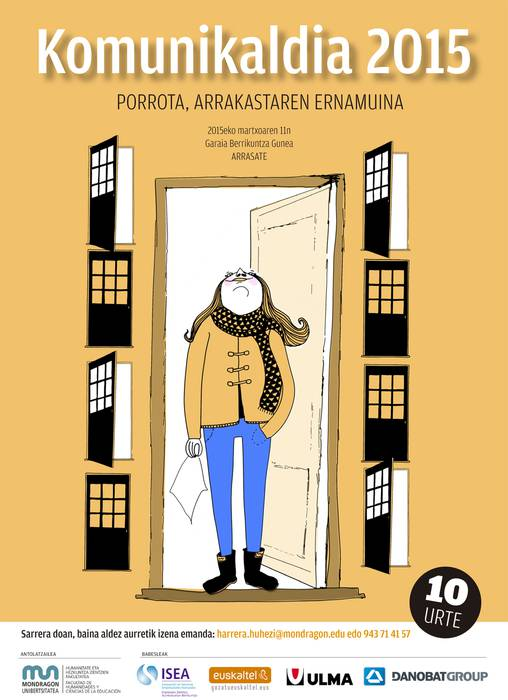 'Porrota, arrakastaren ernamuina' izango da Komunikaldiaren 10. edizioaren gaia